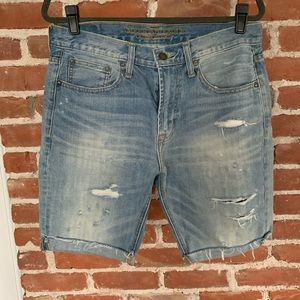 American Eagle Bermuda jean denim shorts 31